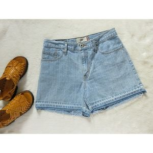 Vintage Levi's Release Hem High Rise Denim Shorts